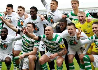 Eight in a row! Celtic crowned Scottish champions again
