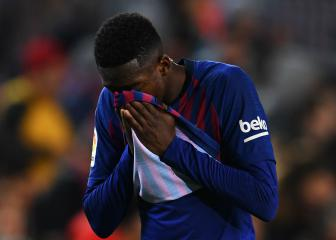 Dembélé limps out of Barça's clash with Celta Vigo