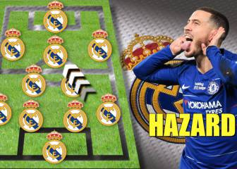The Real Madrid XI that Zidane's got planned for 2019/20