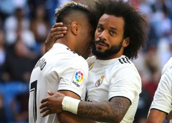 Real Madrid beat Villarreal in front of sparse Bernabeu crowd