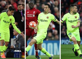 Coutinho, Busquets and Jordi Alba, singled out after Barça debacle