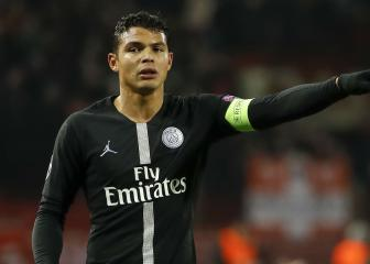 Thiago Silva out for the rest of the season after knee surgery