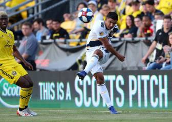 LA Galaxy's second loss in a row thanks to Columbus Crew