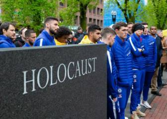 Chelsea visits New England Holocaust Memorial in Boston