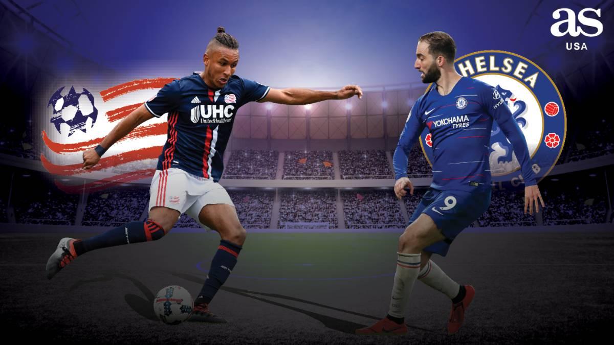 New England Revolution vs Chelsea live: Charity Match - AS.com