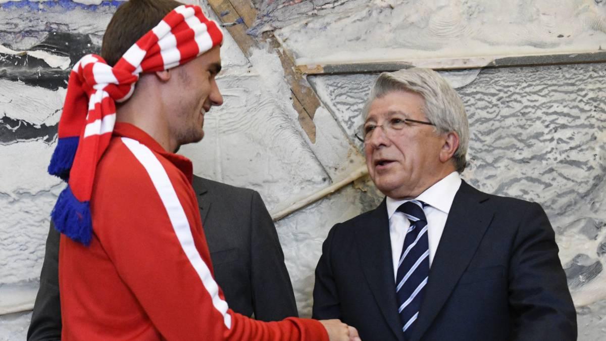 Image result for Atletico Madrid president