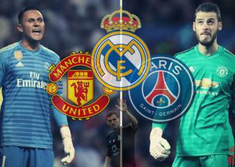 Keylor and De Gea: another potential glove triangle
