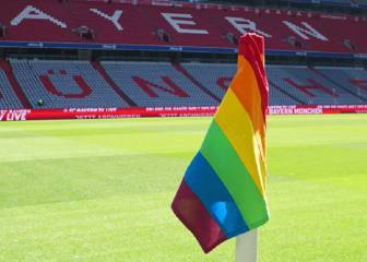 Bayern to use rainbow corner flags for Frankfurt finale