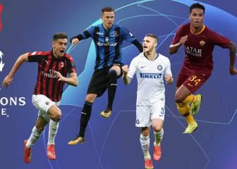 Italian UCL positions to be determined on last day