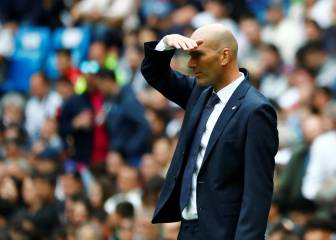 Zidane's 11 games back at Real helm offer up clear casualties
