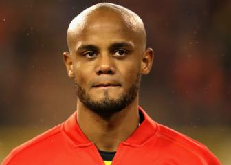 Vincent Kompany back in Belgium squad