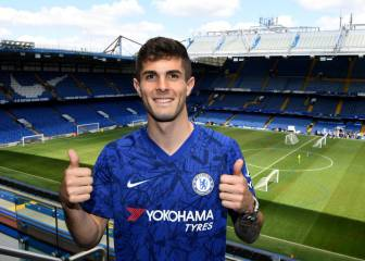 Christian Pulisic officially unveiled as Chelsea player