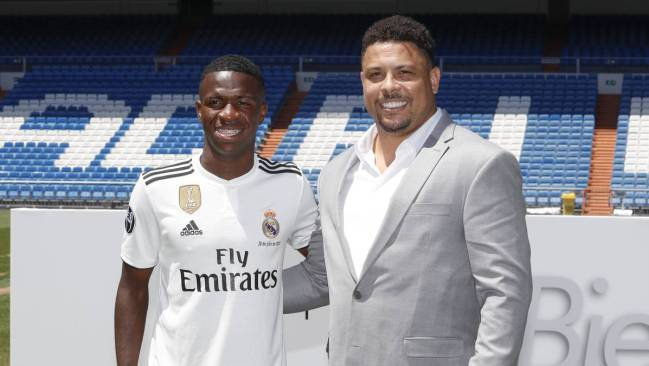 82db56d7a Ronaldo asks for Vinicius loan deal at Valladolid