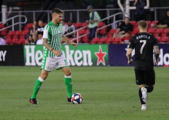 Betis with comfortable win over DC United at Audi Field