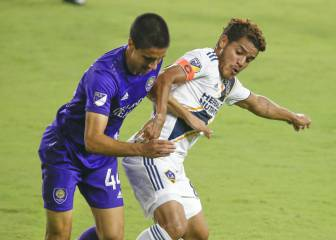 Jonathan dos Santos has been battling with a hip injury