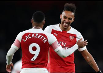 Lacazette and Aubameyang target being 'perfect' partners