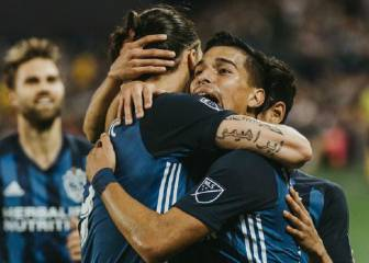 Zlatan scores and Galaxy sums its second win on the road