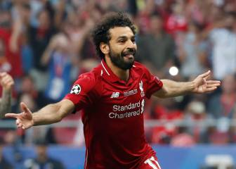 Salah goal only the third fastest in a European Cup final