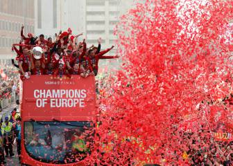 Liverpool bring the Champions League trophy home