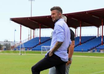 David Beckham ready for Miami Freedom Park opening