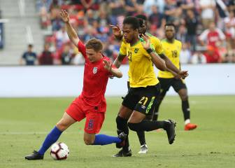 Jamaica surprises USA ahead of the Gold Cup