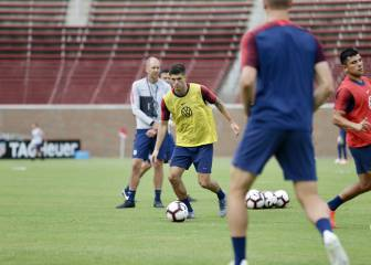 Pulisic focuses on the USMNT and Gold Cup