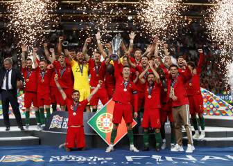 Portugal are inaugural Nations League champions