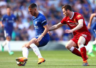 Eden Hazard is the best player I've faced - Andy Robertson