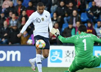 Mbappe brings up century with France opener in Andorra