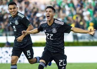 Mexico with Antuna showcased its Gold Cup power against Cuba