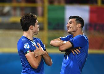 Italy come from behind to school Spain