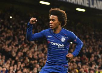 Willian: Chelsea reject €40m offers from Atlético and Barça