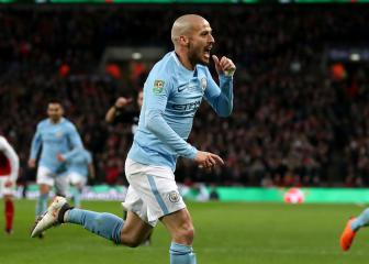 David Silva: Man City's midfielder's magic moments