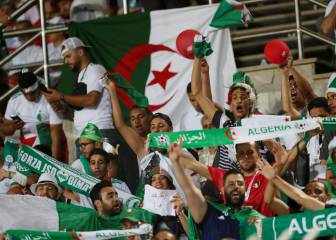 Algeria see off Senegal with second half strike