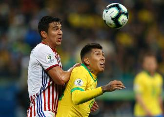 Brazil beat Paraguay on penalties to reach Copa semi-final