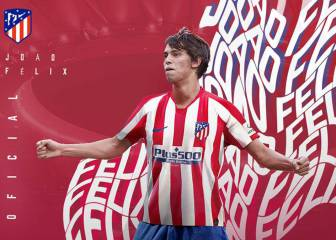 Joao Félix is officially an Atlético Madrid player