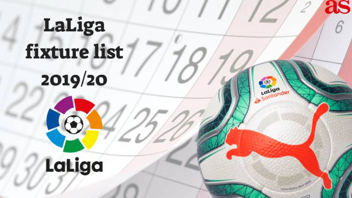 Calendario Serie A Tim 2019 20 Pdf.Laliga 2019 20 Fixture List Draw How And Where To Watch