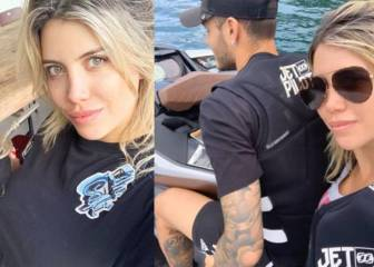 Icardi: Wanda Nara meets with Juve sporting director in Ibiza