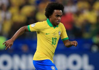Brazil's Willian out of Copa America through injury