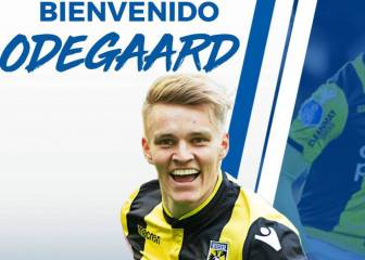 Official: Odegaard joins Real Sociedad on loan