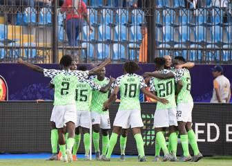 Nigeria come back to head into the quarter-finals