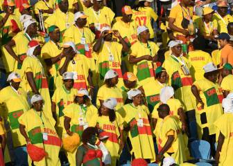 Vibrant fans light up the stands at 2019 Africa Cup of Nations