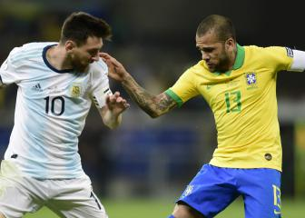 Alves: Messi disrespected Brazil with Copa América outburst