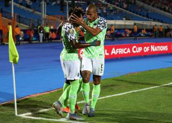 Nigeria through after late Troost-Ekong goal