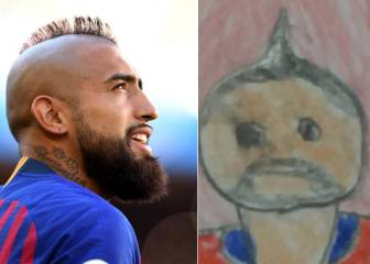 Arturo Vidal: the heart-warming story behind this viral potrait