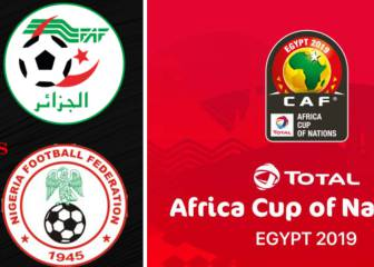 Algeria - Nigeria, how and where to watch CAN 2019