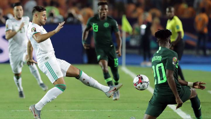 Super Eagles crash out of AFCON, lose 2-1 to Algeria