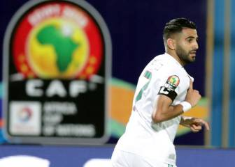 Late Mahrez free-kick sends Algeria into CAN 2019 final