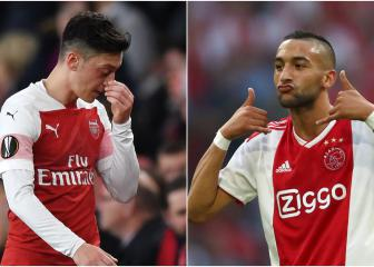 Arsenal: 'sell Ozil, buy Ziyech' - Ajax solution from Overmars