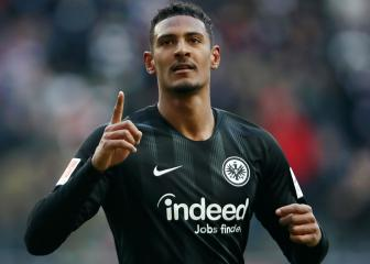 West Ham smash club record for Frankfurt striker Haller